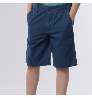 QUIKSILVER BARN MINOR ROAD WALKSHORTS Washed Navy - 10år