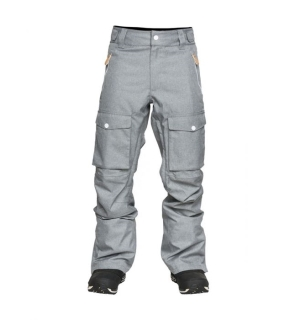 WEAR COLOUR FLIGHT Pant Grey Melange - M