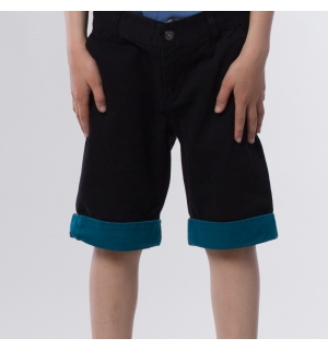 DC PLAY THE KEYS BOYS SHORT Black - 26