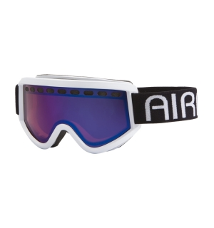 Airblaster Team Air Goggle White Rose Blue Chrome - One size
