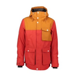 WEAR COLOUR HORIZON Jacket Falu Red - L