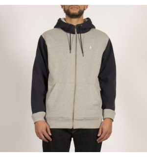 VOLCOM SNGL STN LINED ZIP