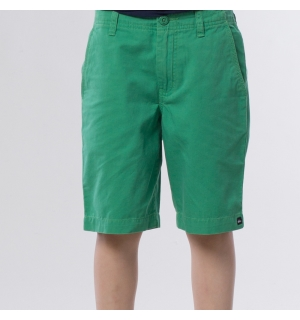 QUIKSILVER BARN MINOR ROAD WALKSHORTS Leprechaun - 12År