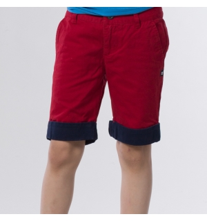 DC PLAY THE KEYS BOYS SHORT Deep Red - 26