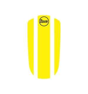"Penny Panel Stickers 22"" Yellow - One size"