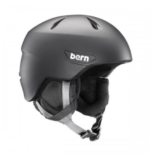 Bern Weston Jr Matte Black - S/M