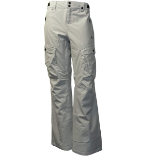 OAKLEY W'S SNOW INSULATED PANT Light Grey - L