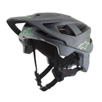 Alpinestars VECTOR PRO ATOM HELMET DARK GRAY COOL GRAY MATT - M
