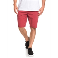 QUIKSILVER EVERYDAY CHINO LIGHT SHORT BRICK RED - 36