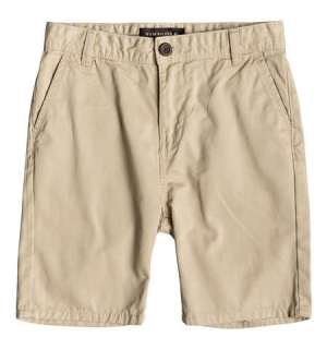 QUIKSILVER EVERYDAY CHINO LGHTSHRT YOUTH WARM SAND - 26/12år