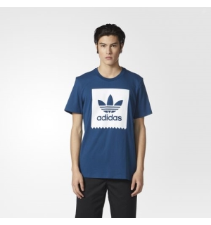 ADIDAS SOLID BB TEE Blue Night - S