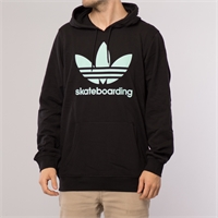 ADIDAS CLIMA 3.0 SOLID HOOD Black/Ice Green - S