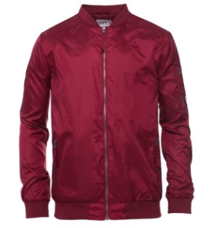 Colour Wear Granite Jacket Burgundy - M