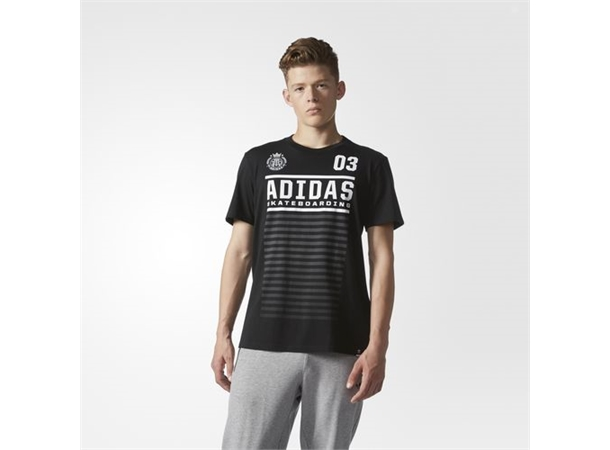 fa777d82 ADIDAS FC TEE Black/White - S - Boardshop.no AS