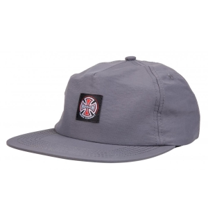 Independent Truck Co. Label Cap Charcoal - O/S