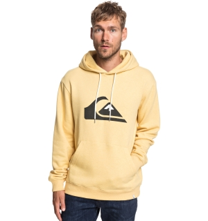 QUIKSILVER BIG LOGO HOOD RATTAN HEATHER - M
