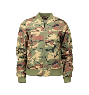 Wear Colour Prime Bomber Leaf - S