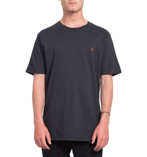 VOLCOM STONE BLANK BSC SS BLK-S
