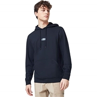 OAKLEY PATCH FLEECE HOODIE BLACKOUT - L