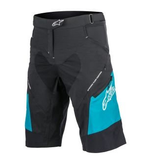 Alpinestars Stella Drop 2 Shorts Black/Ocean - 28