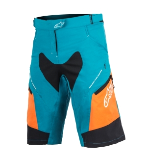 Alpinestars Stella Drop 2 Shorts Ocean/Orange - 30