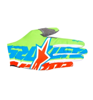 Alpinestars ROVER GLOVE Blue/Orange - XL
