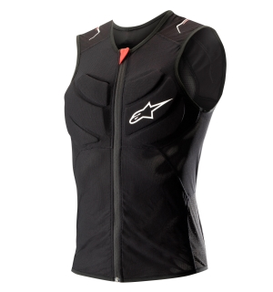 Alpinestars EVOLUTION VEST Black/Red - L