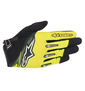 Alpinestars FLOW GLOVE Yellow/Black - XL