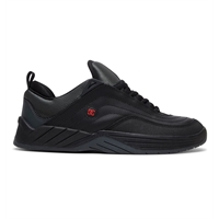 DC WILLIAMS SLIM BLACK/DK GREY/ATHLETIC RED - 43