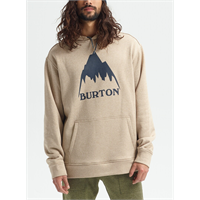BURTON OAK PULLOVER PLAZA TAUPE HEATHER - M