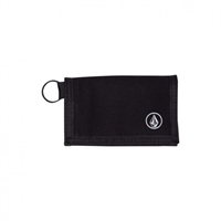 VOLCOM FULL STONE CLOTH WALLET BLACK - One Size