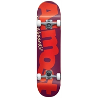 "Almost Bent Logo Youth Complete Burgundy - 7,0"" x 29"", Soft Wheels"